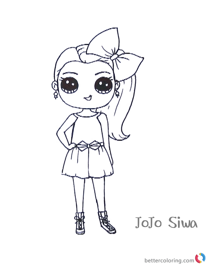 Beautiful Picture of Jojo Siwa Coloring Pages ...