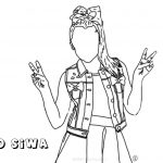 Jojo Siwa Coloring Pages Jojo Siwa Coloring Pages Drawing Autumnarendelle Free Printable