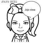 Jojo Siwa Coloring Pages Jojo Siwa Coloring Pages Free To Print Get Coloring Page