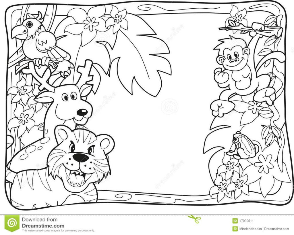 Jungle Coloring Pages Coloring Pages Outstanding Jungle Coloring Pages Impressive