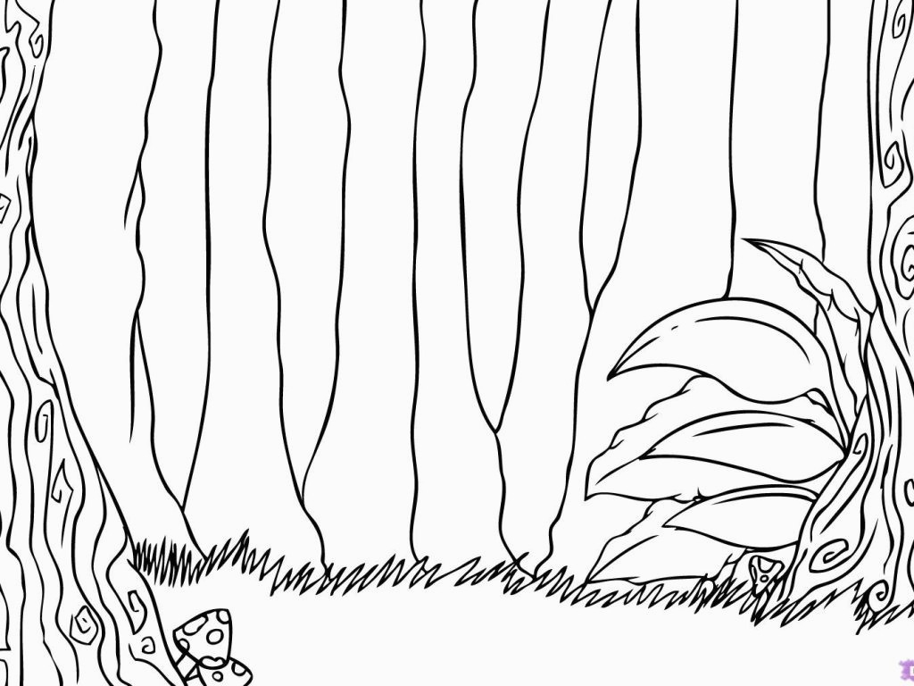 Jungle Coloring Pages Forest Coloring Pages For Adults At Getcolorings Free Pr For Jungle