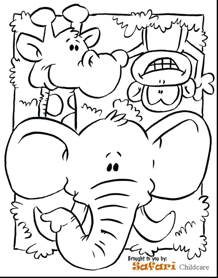 Jungle Coloring Pages Rainforest Animal Coloring Book New Jungle Coloring Pages Valid