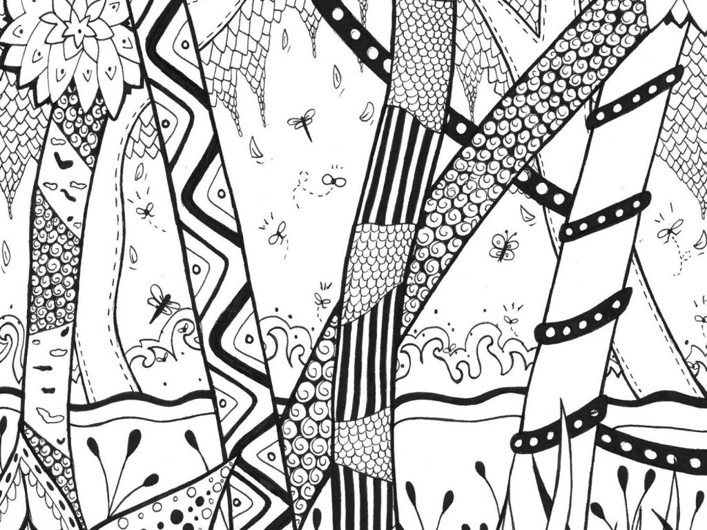 Jungle Coloring Pages Raree Scene Coloring Page Free Rainforest Pages Liberal Printable