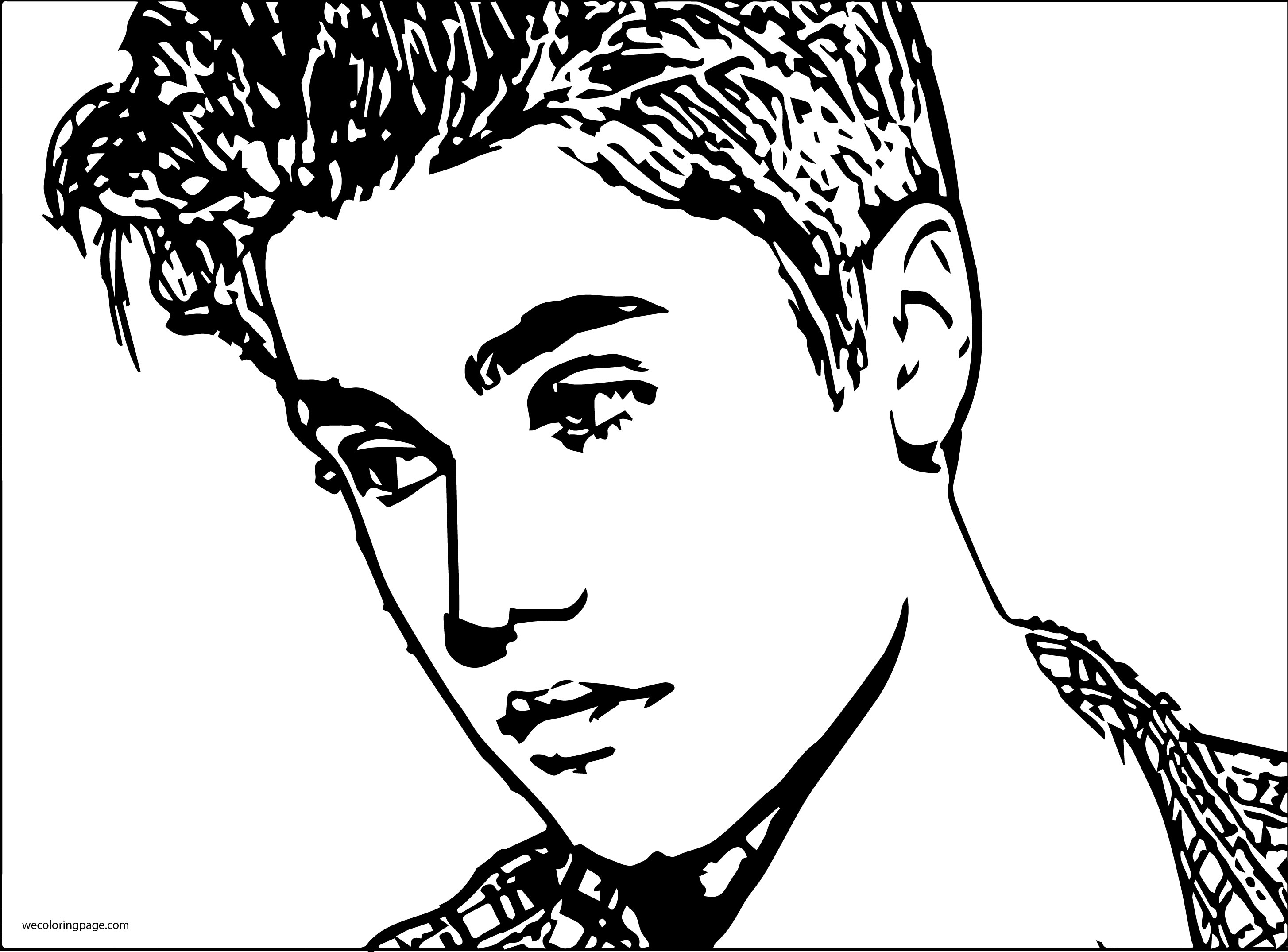 Marvelous Photo of Justin Bieber Coloring Pages