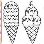 Kid Coloring Pages Ice Cream Drawing Coloring For Kids Toddlers Youtube