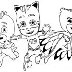 Kid Coloring Pages Pj Masks To Print For Free Pj Masks Kids Coloring Pages