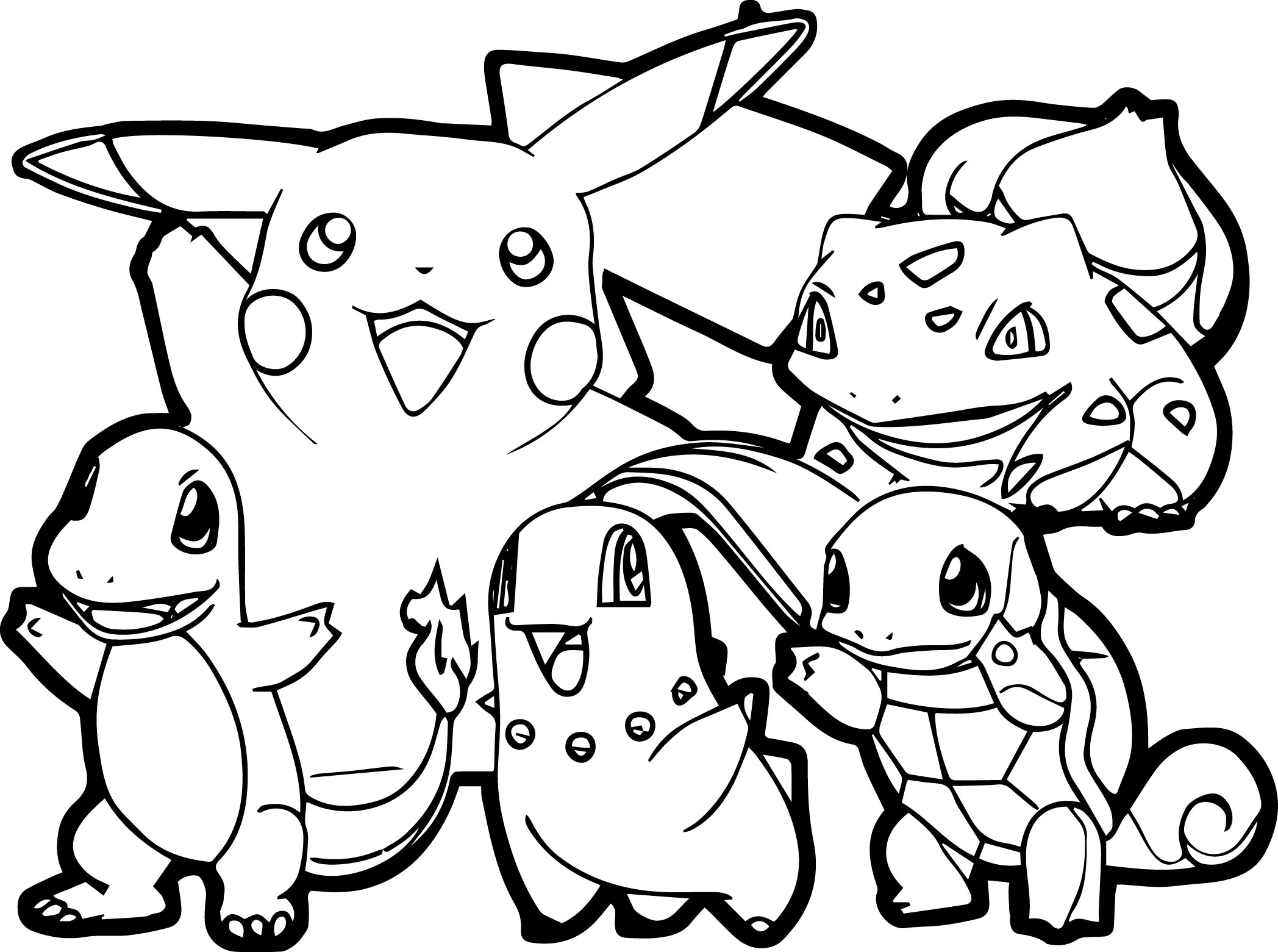 Kid Coloring Pages Pokemon For Children All Pokemon Coloring Pages Kids Coloring Pages