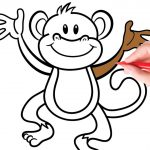 Kids Color Pages Coloring Monkey Colouring Pages For Kids Colouring Pictures With