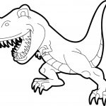 Kids Color Pages Cute Tyrannosaurus Rex Coloring Pages Printable Kids Colouring
