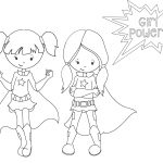 Kids Color Pages Free Printable Superhero Coloring Sheets For Kids Crazy Little