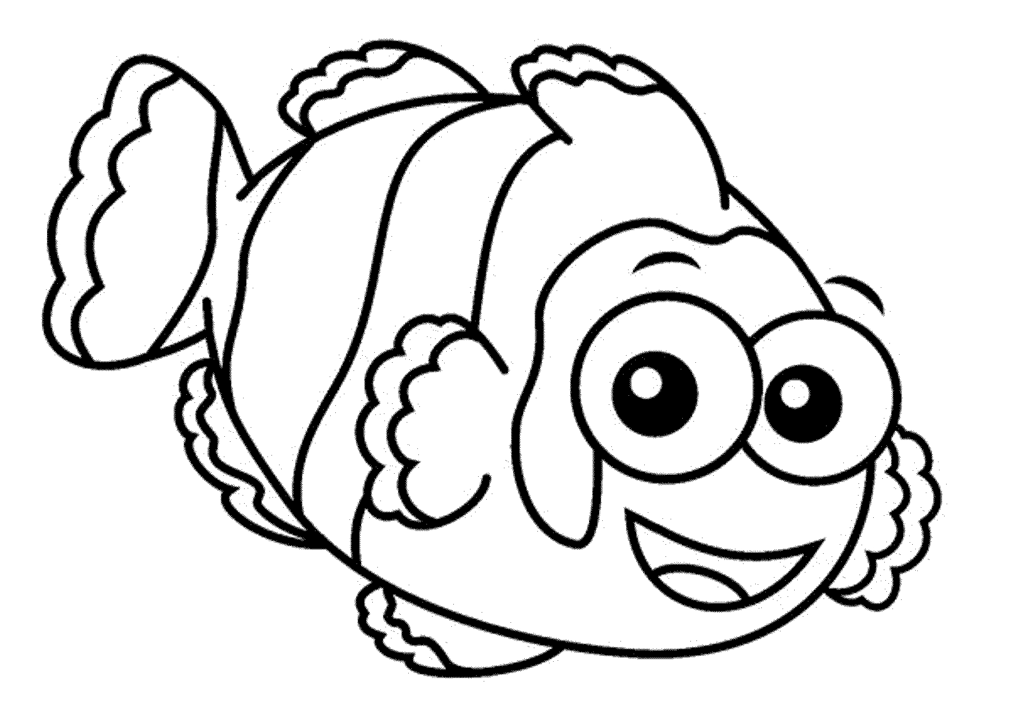Kids Color Pages Print Download Cute And Educative Fish Coloring Pages
