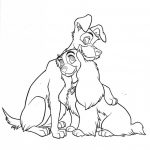 Lady And The Tramp Coloring Pages Lady And The Tramp Coloring Pages Coloringsuite Freizeit Job