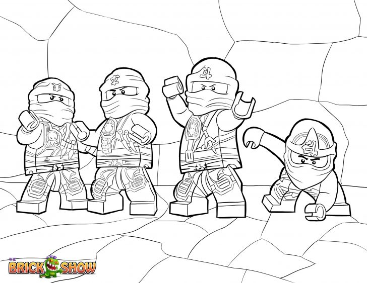 Lego Coloring Pages Dazzling Design Lego Ninjago Rebooted Coloring Pages Enchanting