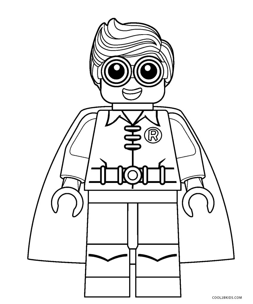 30+ Amazing Photo of Lego Coloring Pages