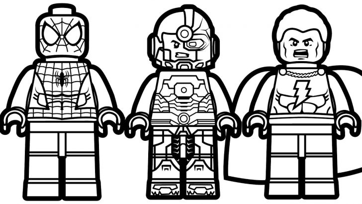Lego Coloring Pages Lego Flash Coloring Pages Coloring Pages For Kids
