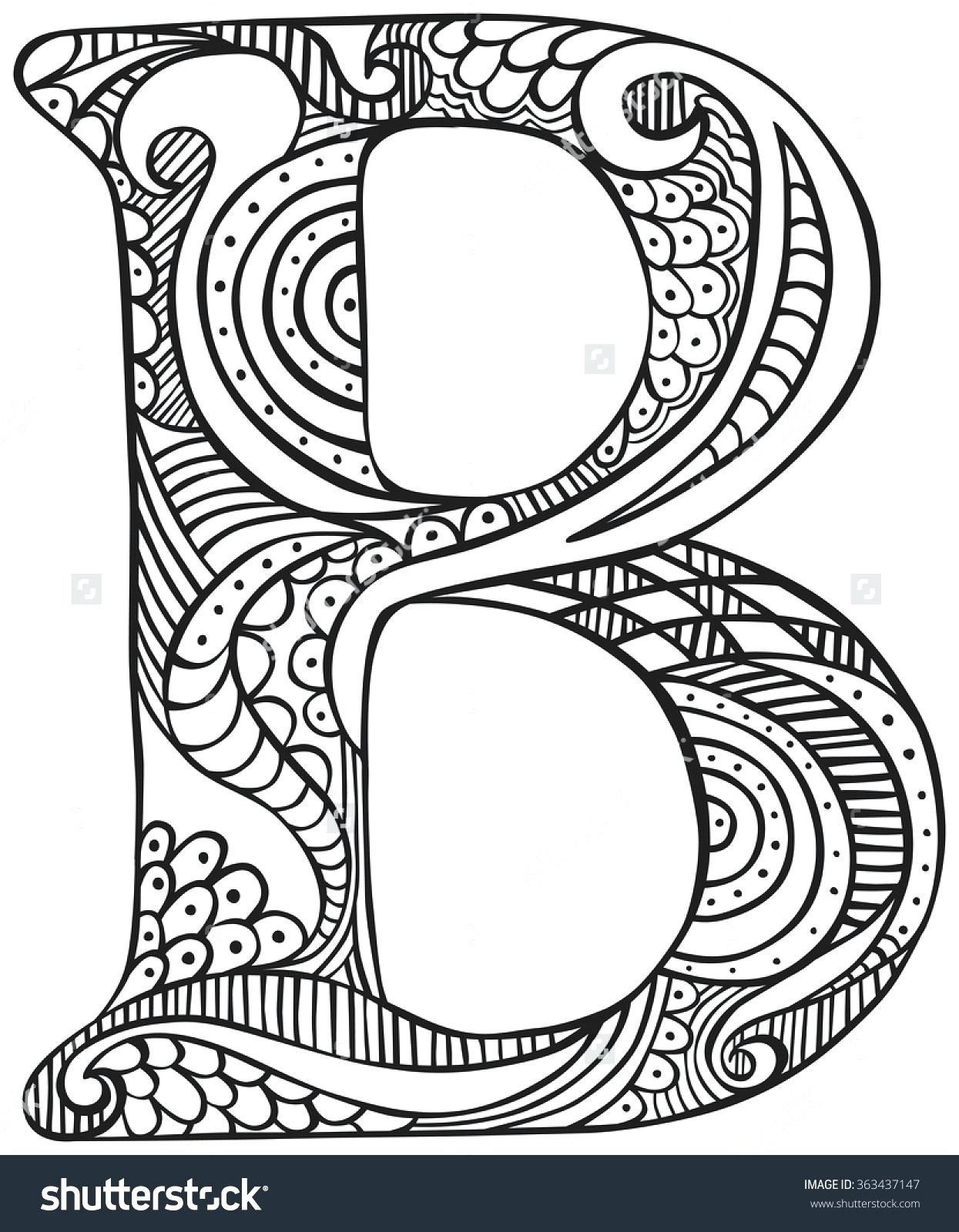 Letter B Coloring Pages Awesome Letter B Coloring Sheet Colin Bookman