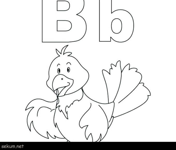Letter B Coloring Pages Kids Color Page Bread Coloring Page Coloring Pages Bread Alphabet