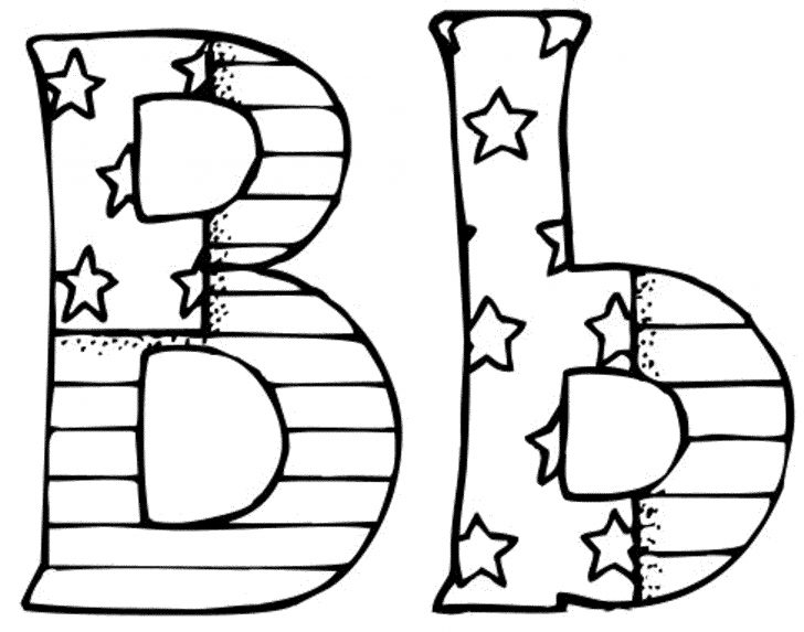 Letter B Coloring Pages Letter B Coloring Pages 2439450 In Page Plasticulture