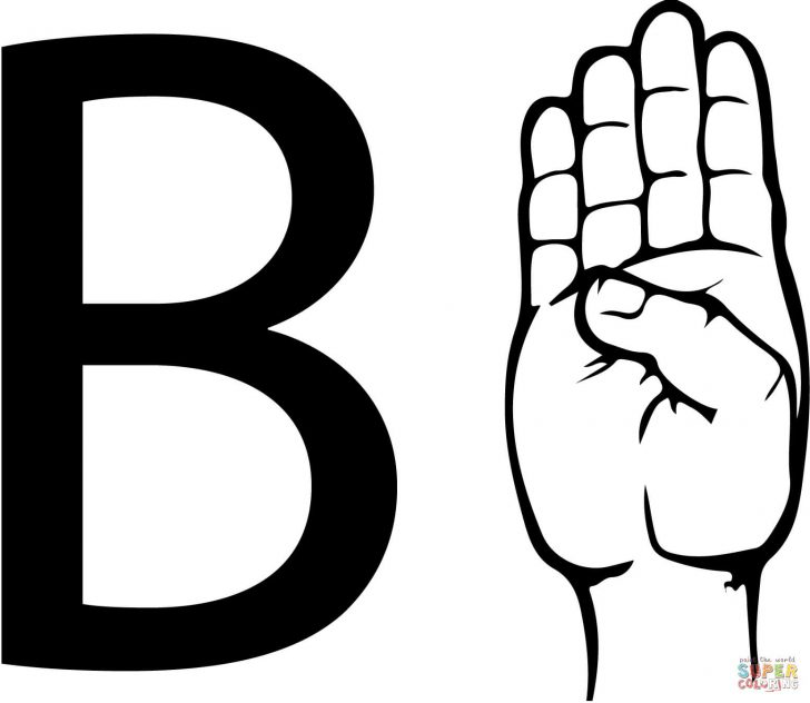 Letter B Coloring Pages Letter B Coloring Pages Free Coloring Pages