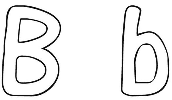 Letter B Coloring Pages Letter B Coloring Pages Unique Sheets For Fruit And Page Bitslice