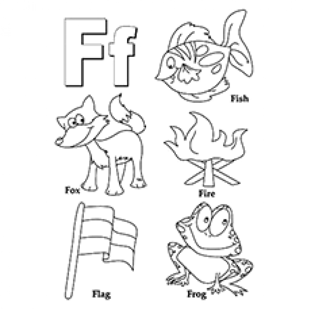 Letter F Coloring Page Letter F Coloring Page Top 10 Free Printable Pages Online 0