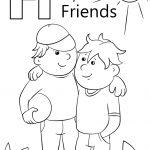 Letter F Coloring Page Letter F Is For Friends Coloring Page Free Printable Coloring Pages
