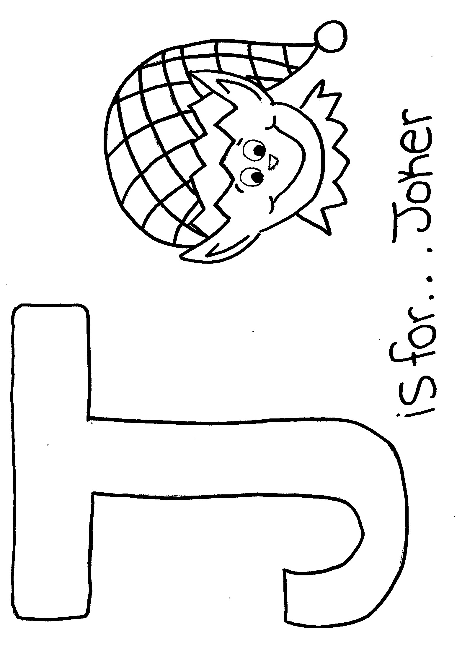 Letter J Coloring Page J Coloring Pages Funnyhub