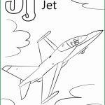 Letter J Coloring Page Letter J Coloring Page Best Of Letter J Is For Jet Coloring Page