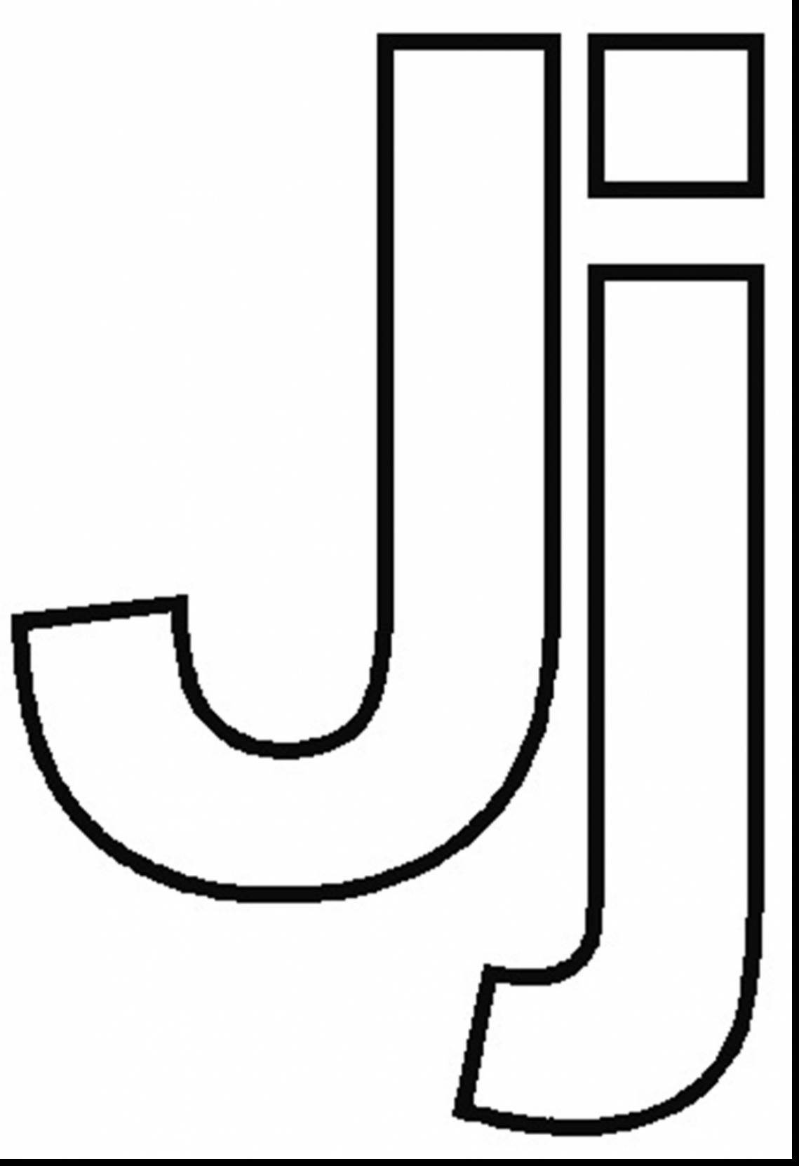 Letter J Coloring Page The Letter J Coloring Pages Throughout Page Bitslice