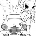 Lisa Frank Coloring Pages Lisa Frank Coloring Pages Girl With Car Coloringstar