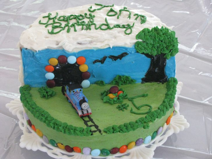 Little Boy Birthday Cakes Thomas The Tank Engine Birthday Cake For Little Boys Parsnips And