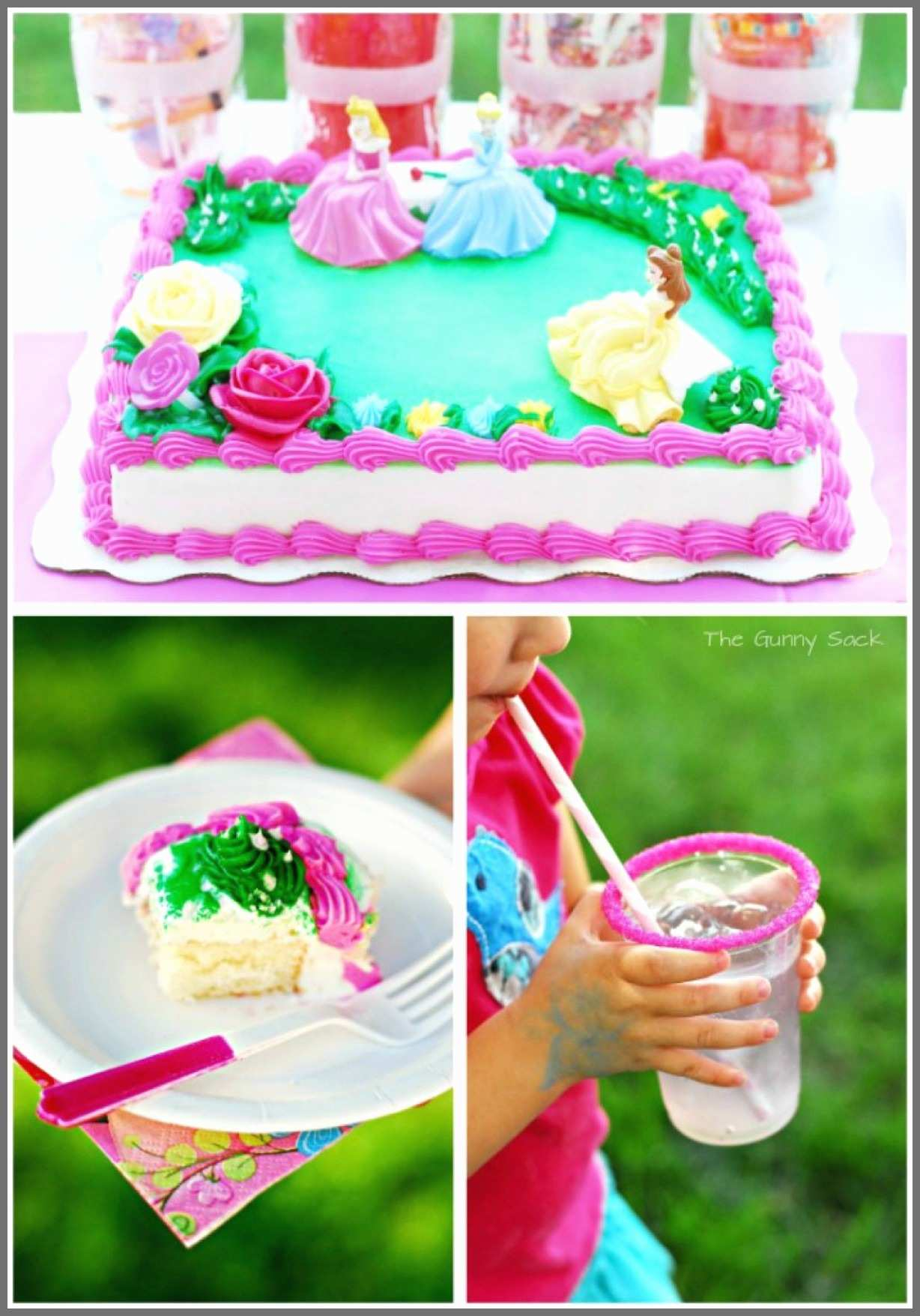 Little Mermaid Birthday Cake Walmart Princess Cakes