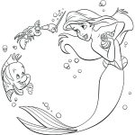 Little Mermaid Coloring Pages Coloring Page Coloring Page Little Mermaid Pages Ariel Printable