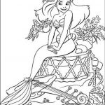 Little Mermaid Coloring Pages Flounder Coloring Pages From The Little Mermaid For Teenagers The