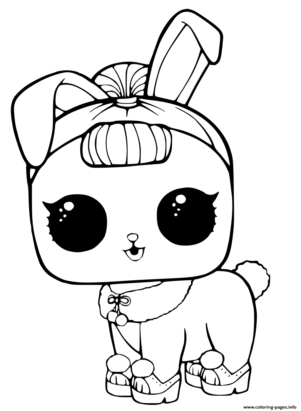 Lol Coloring Pages Lol Coloring Pictures Pets Colouring Lil Unicorn Page Doll Surprise