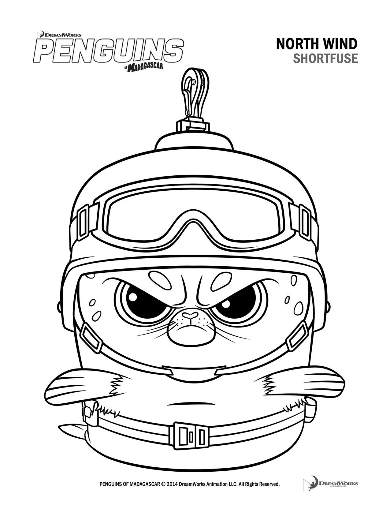 Madagascar Coloring Pages Penguins Of Madagascar Coloring Pages Printable Fresh Madagascar