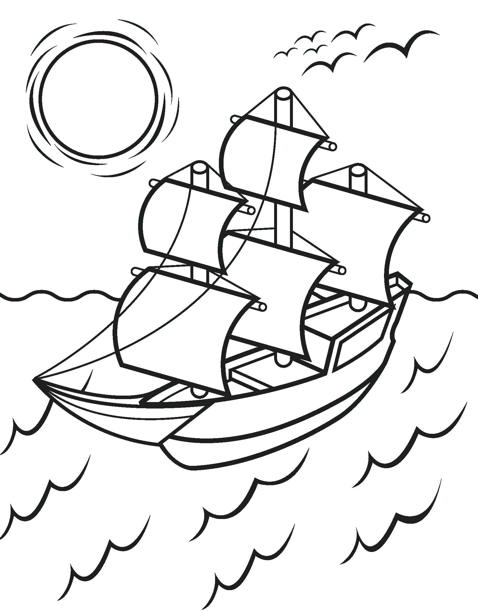 Mayflower Coloring Page 7 Wonderful Mayflower Drawing For Kids Gallery Kids Drawing