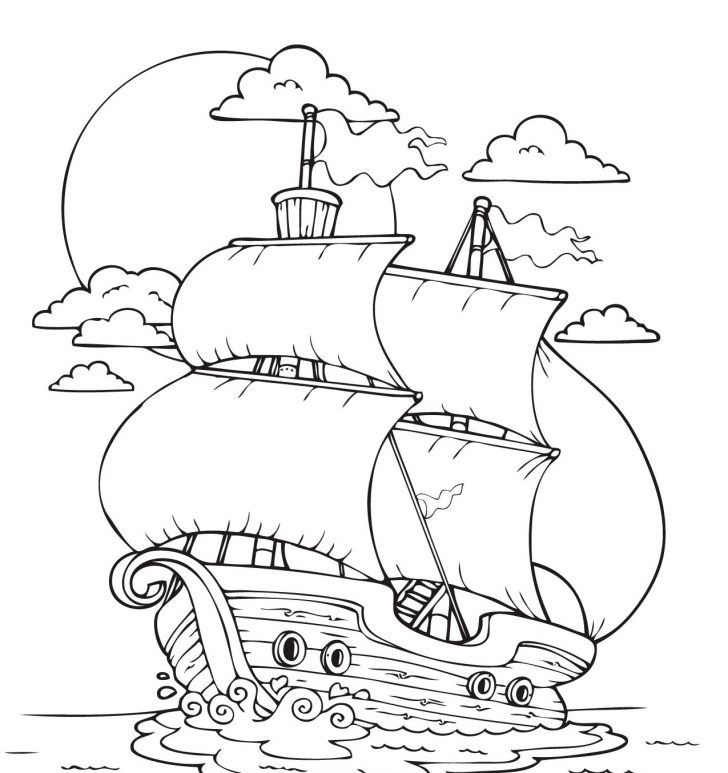 Mayflower Coloring Page Mayflower Coloring Pages Best Coloring Pages For Kids