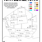 Mayflower Coloring Page Mayflower Math Coloring Page Woo Jr Kids Activities