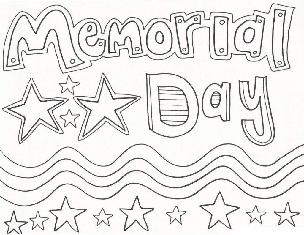 30+ Creative Photo of Memorial Day Coloring Pages