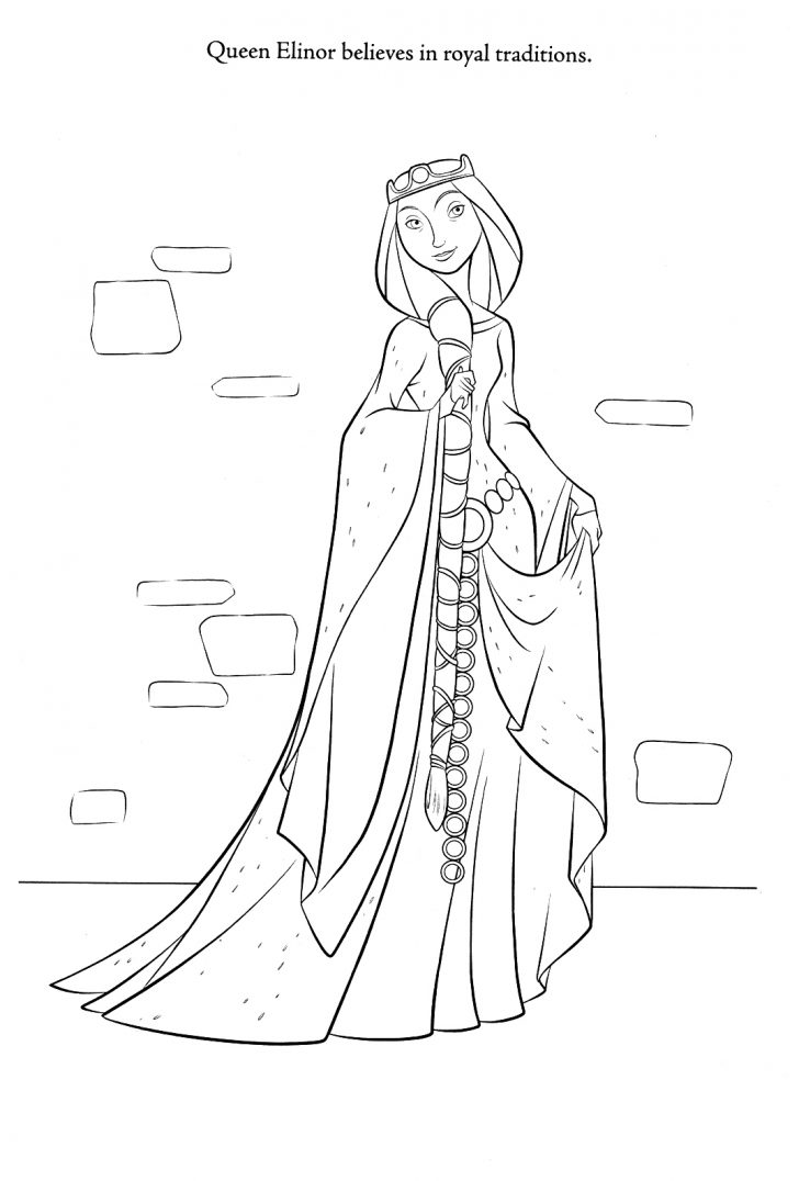 Merida Coloring Pages Brave Coloring Pages Best Coloring Pages For Kids