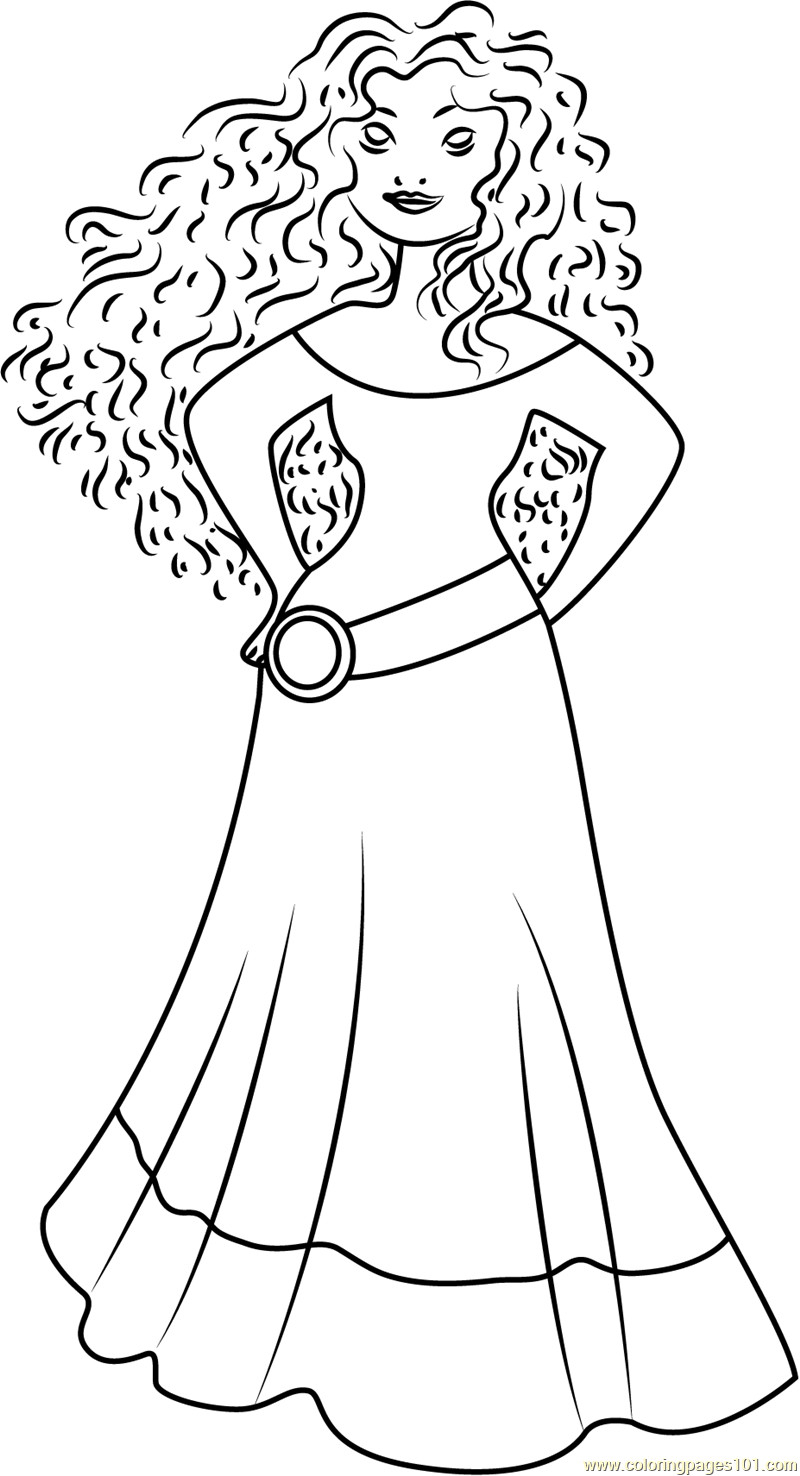 Merida Coloring Pages Merida Brave Coloring Pages Fresh Color Meridia Viranculture