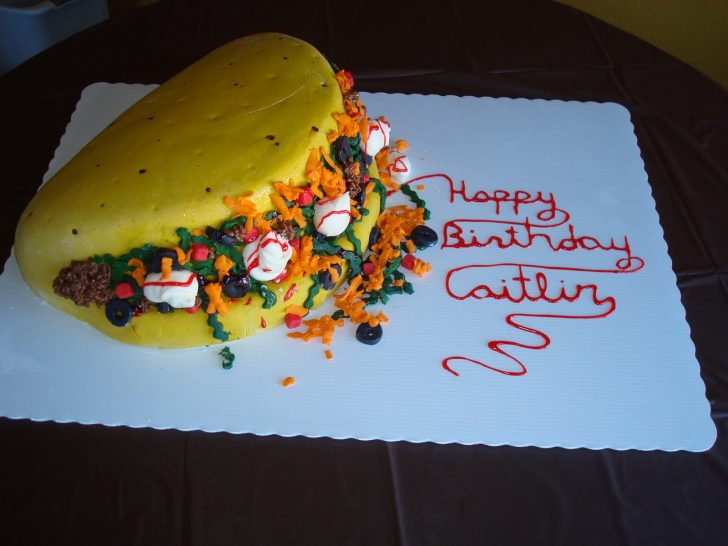 Mexican Birthday Cake For Goodness Cake Taco Birthday Cake