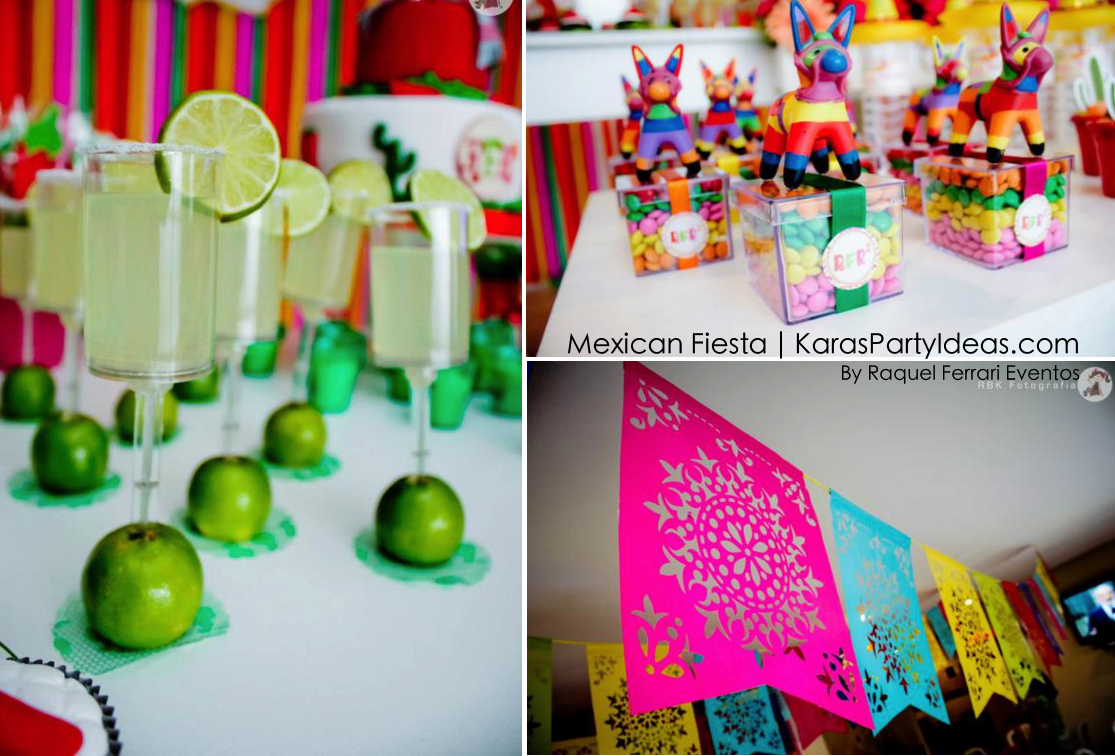 Mexican Birthday Cake Karas Party Ideas Mexican Fiesta Themed Family Adult Birthday Party