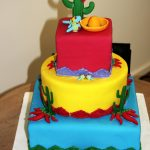 Mexican Birthday Cake Mexican Cake For My Birthday Fiesta Party Fiesta In 2018 Mexican
