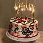 Mexican Birthday Cake Mexican Embroidery Cake Sassys Cafe And Bakery Mesa Arizona