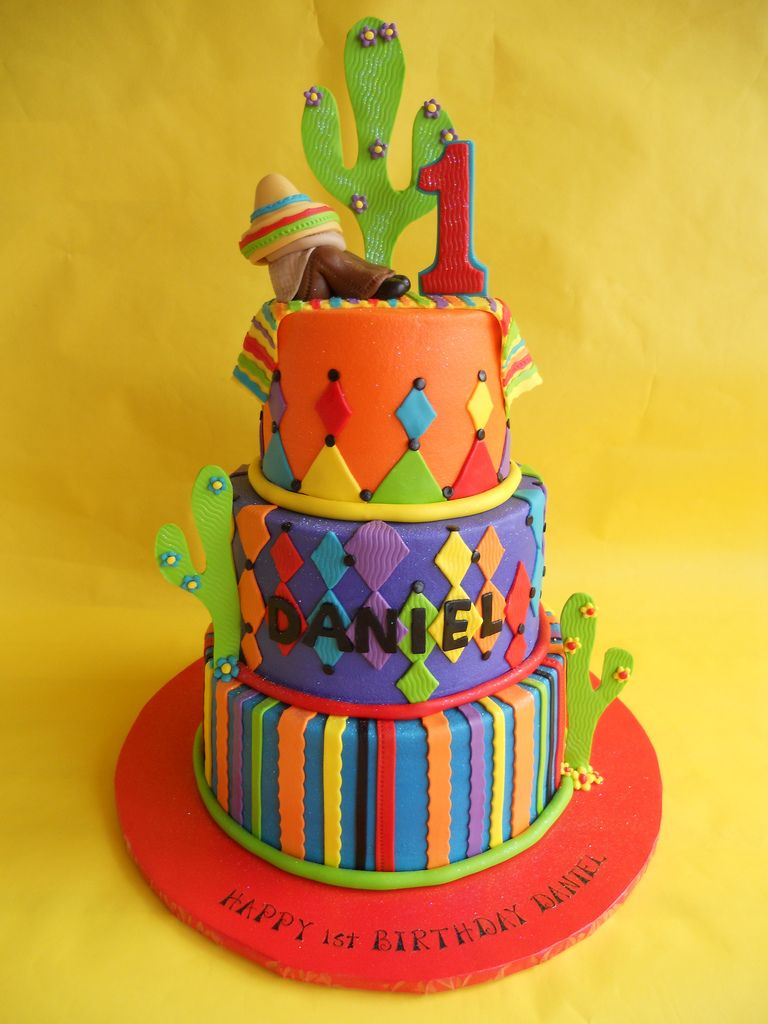 Mexican Birthday Cake Mexican Fiesta Birthday Cake In 2018 Garrett Bday Pinterest