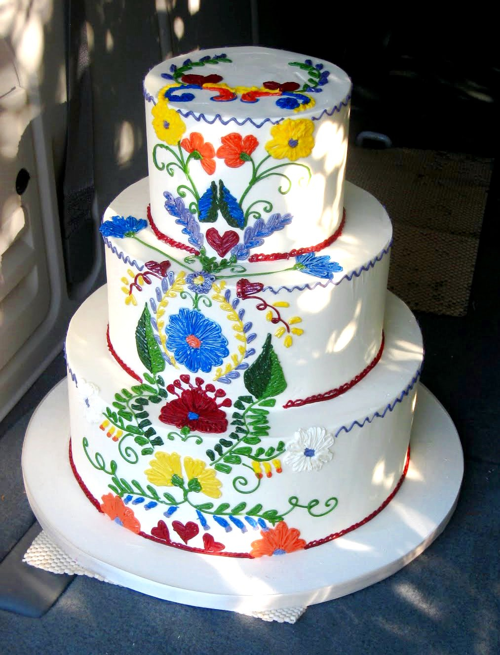 Mexican Birthday Cake Mexican Wedding Cakes Look Unique And Attractive Wwwaiboulder