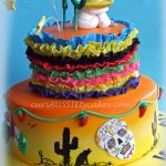 Mexican Birthday Cake Mexico Theme 60th Birthday Cake Cakecentral