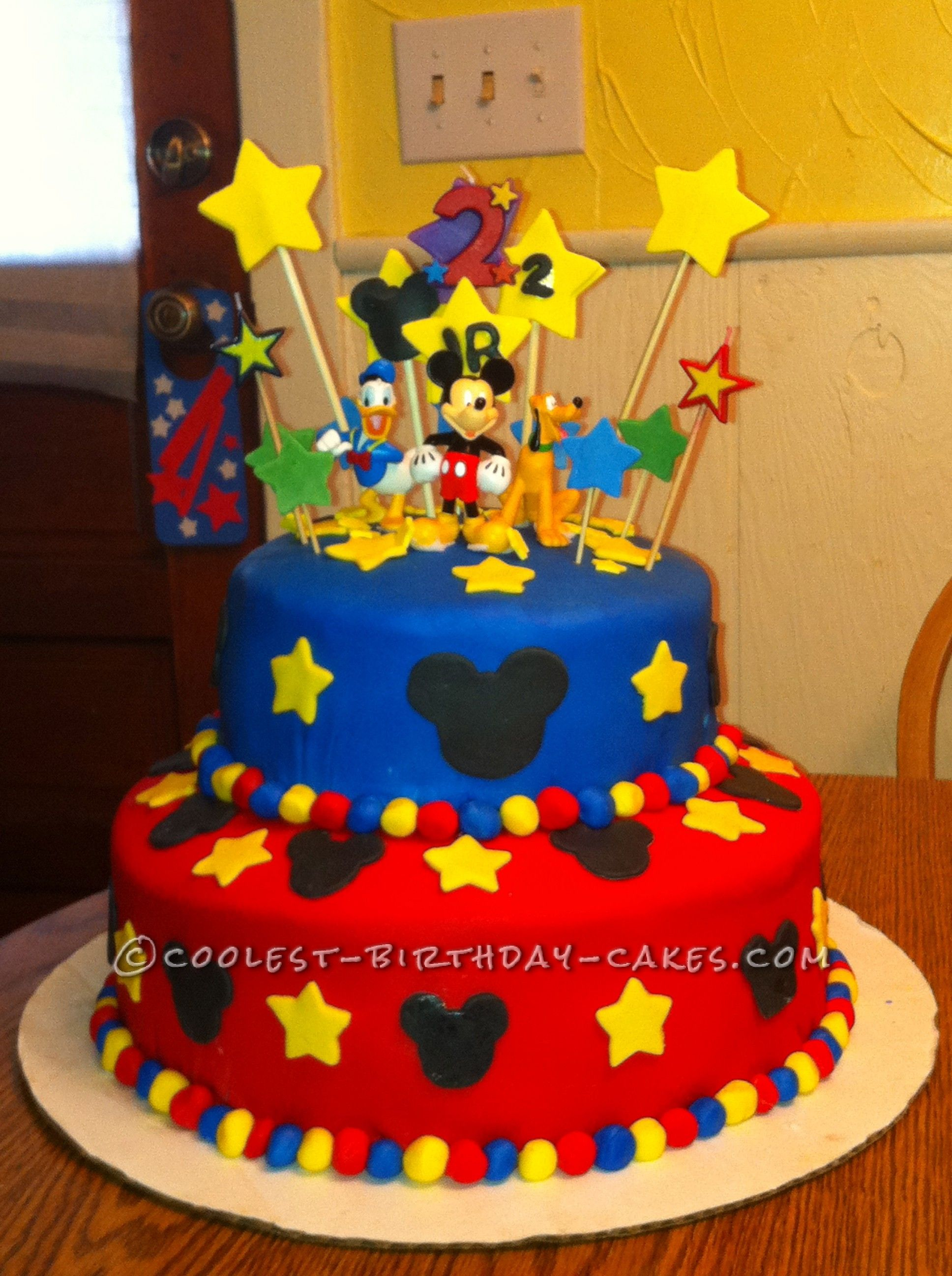 Mickey Mouse Birthday Cake Ideas Coolest 1000 Homemade Cakes You Can Make Bolos